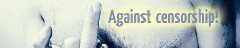 against censorship